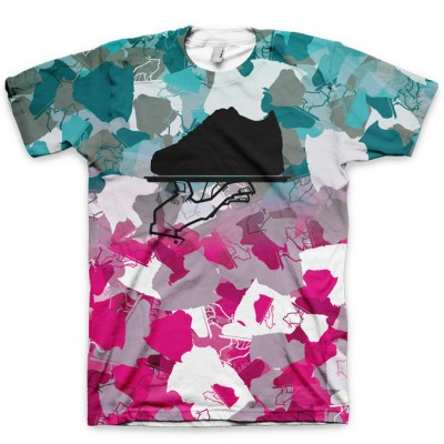 The Sobe Camo All Over Print Logo Tee by GourmetKickz