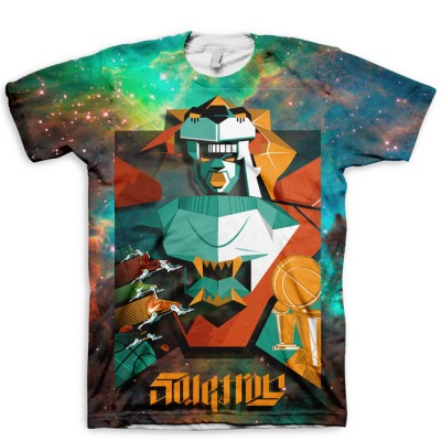 The All Over Print SoleTron All Over Print T-Shirt | Robots Rule Series by Mas x GourmetKickz