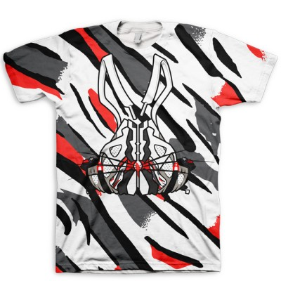 All Over Print What's Up Doc Jordan 8 Bugs Bunny Hook-Up Shirt