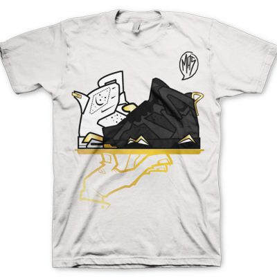 "Signature ""Now Serving A Golden Mas-T-Piece"" Jordan GMP 6/7 T-Shirt"