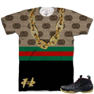 Gucci Foamposite Shirt V3