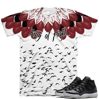 Air Jordan Retro 11 72-10 King Of Flight Shirt V2