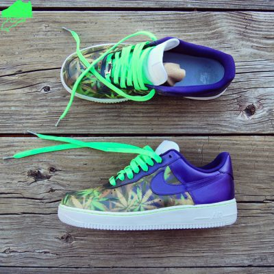Custom 420 AF1 by GourmetKickz | Get Lifted 2016