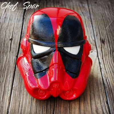Premium Star Wars Helmet | Deadpool 8″