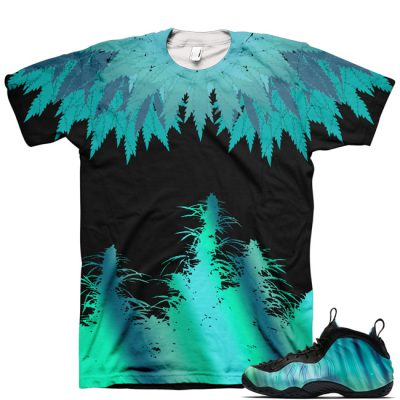 Northern Lights Foamposite Shirt V9