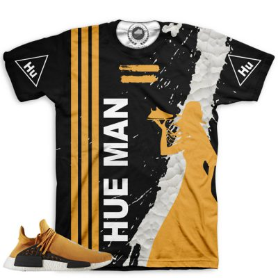 Pharrell Human Race Adidas NMD Custom T-Shirt by Chef Hanzo | Tangerine V3