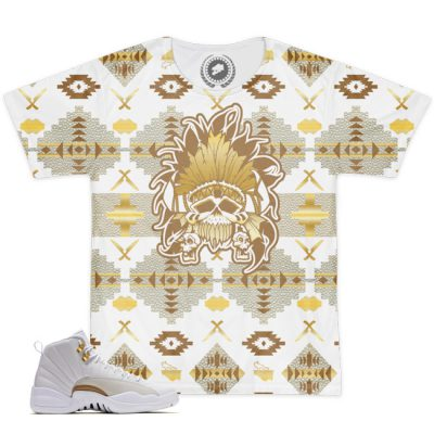 Jordan 12 OVO Match T-Shirt | Beacon Print