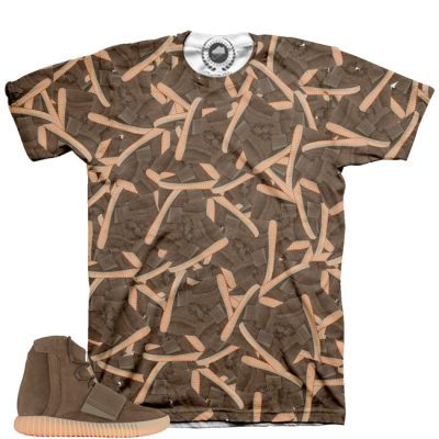 Yeezy Boost 750 Light Brown Gum Shirt | Gummy Feast