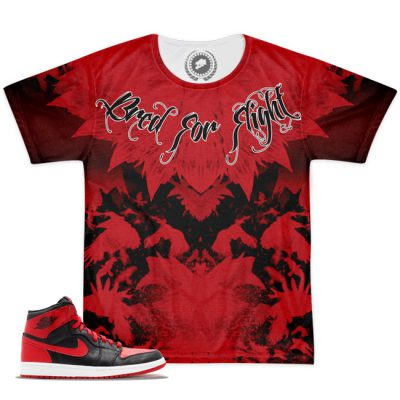 Jordan BRed Shirt | Bred For Flight