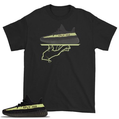 Now Serving Deluxe Yeezy Boost 350 Shirt Blk/Green