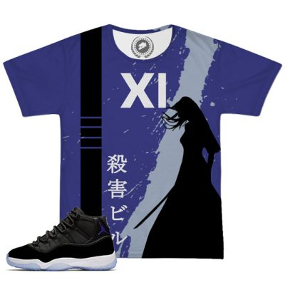 Space Jam 11 X Kill Bill All Over Print T-Shirt | Concord