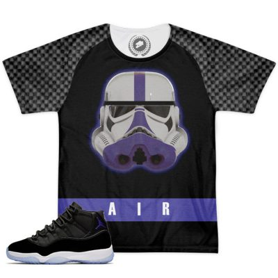 Space Jam 11 Match T-Shirt | MonStarWars Black
