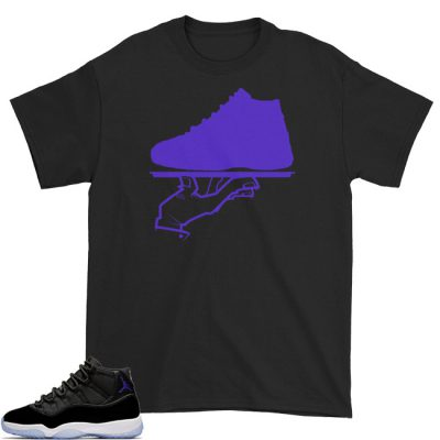 Space Jam 11 Match T-Shirt | Now Serving Black