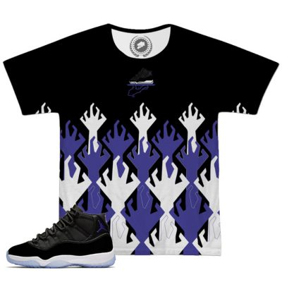 Space Jam 11 Match T-Shirt | Hungry Hands Black