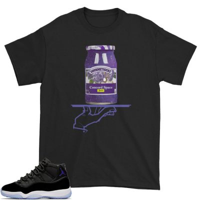 Space Jam 11 Match T-Shirt | Now Serving Space Jam Black